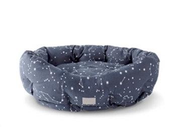 Round Cuddler Celestial Dog Bed