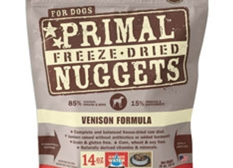 Primal Pet Foods Freeze Dried Cat Food- Venison 5.5oz.