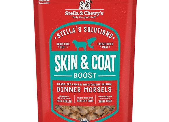 STELLA & CHEWY'S DOG SOLUTIONS SKIN & COAT BOOST LAMB & SALMON 13OZ