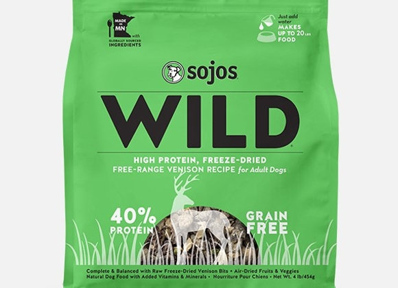Sojo Dog Freeze Dried Wild Ven 4 Lbs.