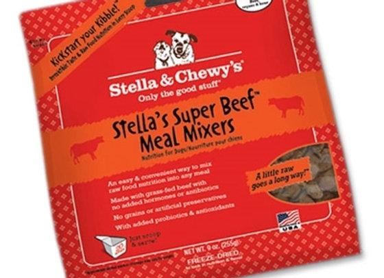 Stella & Chewys Freeze Dried Dog  Food-Mixers Beef 3.5oz.