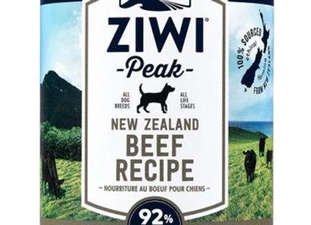 ZiwiPeak Dog Daily-Dog  Beef 13.75oz.  (case of 12)