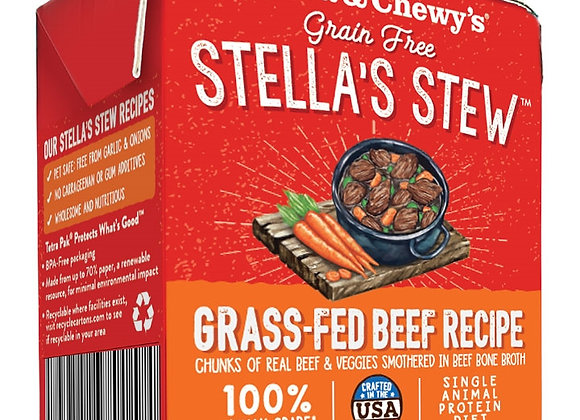 STELLA & CHEWY'S DOG STEW GRASS FED BEEF 11OZ