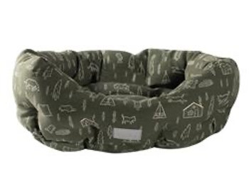 Round Cuddler Camp Bed