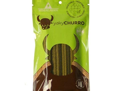 Himalayan Dog Yaky Churro  Spinach  4.9 oz..