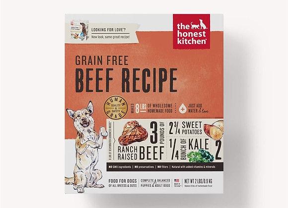 Honest Kitchen  Dog Grain Free Beef  2 Lbs. Box