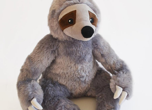Stanley the Stinky Sloth soft, durable, farting dog toy