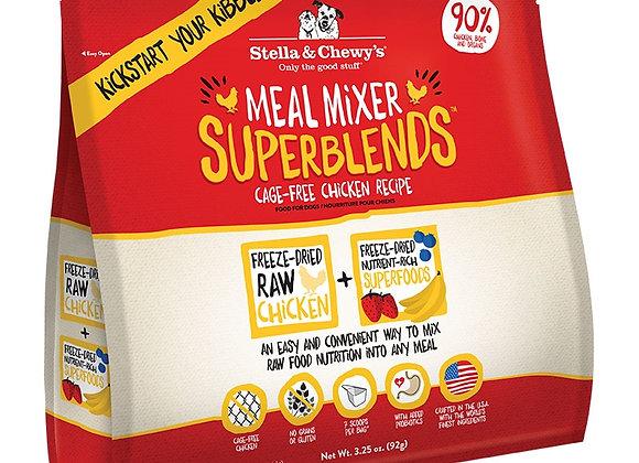 Stella & Chewys Dog  Freeze Dried Super Blends Mixer Chicken 3.25 oz.