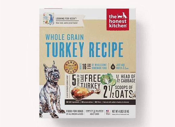 Honest Kitchen  Dog Whole Grain Turkey 4 Lbs. Box