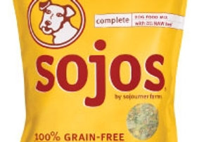 Sojos Beef and Veggie Dehydrated Food 8 lbs