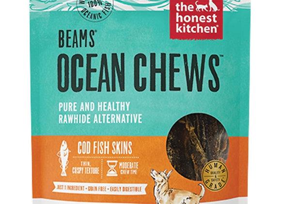 Honest Kitchen Dog Beams Ocean Chews Cod Small 2.75 Oz.