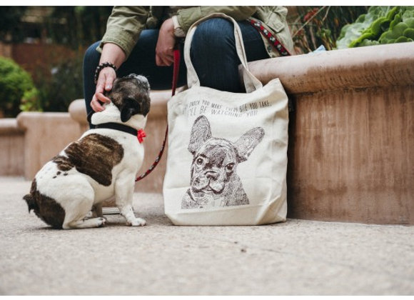 Doggie Best In Show Tote Bags