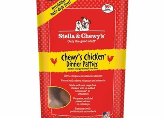 Stella & Chewys Freeze Dried Dog Food- Chicken 15oz