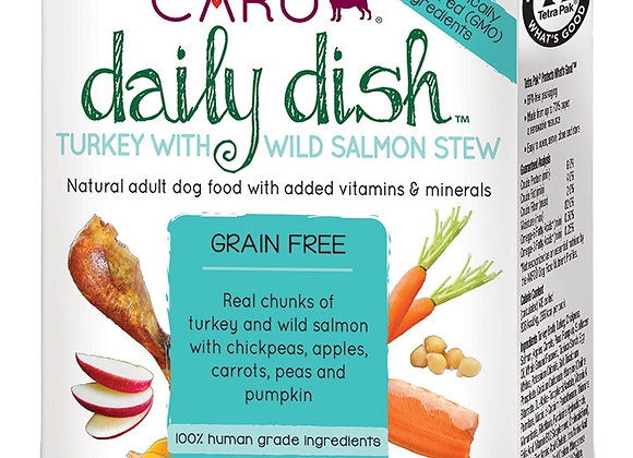 CARU DOG DAILY STEW TURKEY SALMON 12.5OZ each (12 pack)