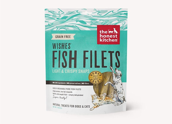Honest Kitchen Dog Wishes Filet White Fish 3 oz.