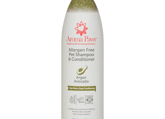 Allergen Free Shampoo & Conditioner (Argan Avocado)