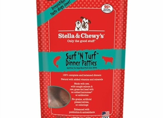 Stella & Chewys Freeze Dried Dog Food-Surf and Turf 5.5oz