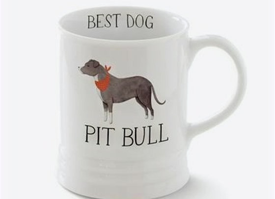 Pit Bull Mug, Julia Swaney Design