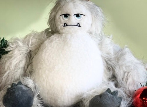 Yeti Doggie Toy