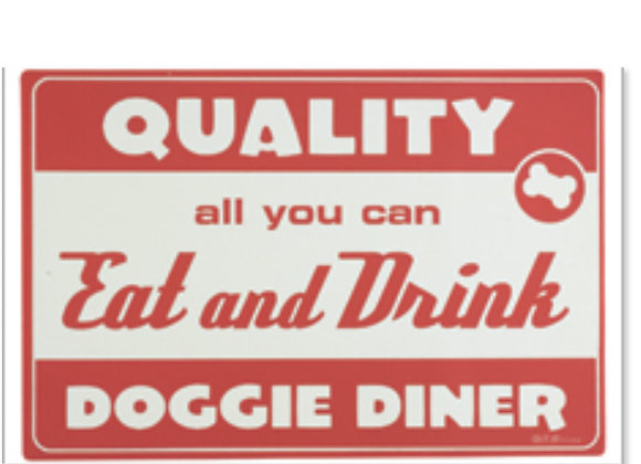 Diner Dog Red Placemat