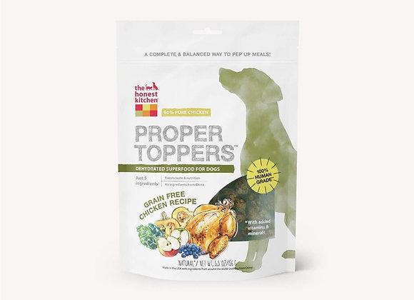 Honest Kitchen  Dog Proper Topper Grain Free Chicken 5.5 oz.
