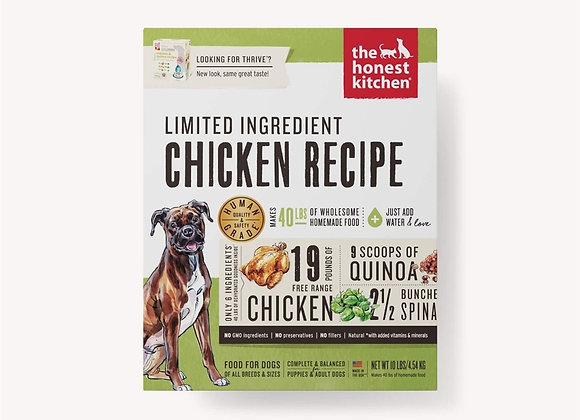 Honest Kitchen  Dog LID Chicken 10 Lbs. Box