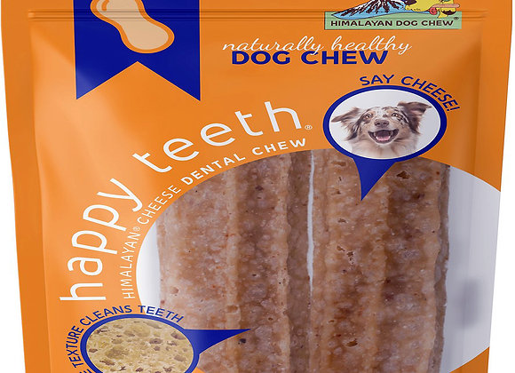 HIMALAYAN DOG HAPPY TEETH PEANUT BUTTER LARGE