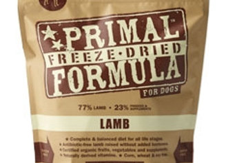 Primal Pet Foods Freeze Dried Dog  Food 5.5 oz.- Lamb