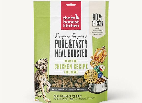 Honest Kitchen Dog Proper Topper Grain Free Chicken 14 oz.