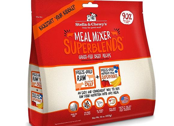 Stella & Chewys Dog  Freeze Dried   Super Blends   Mixer   Beef  16 oz.