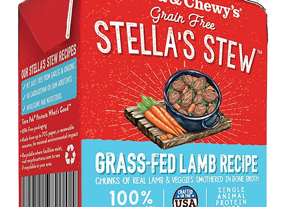 STELLA & CHEWY'S DOG STEW GRASS FED LAMB 11OZ