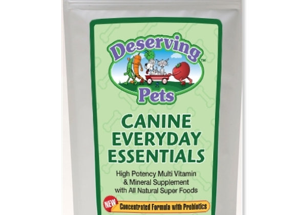 Canine Everyday Essentials Vitamins for Dogs, Healthy Immune system, shiny coat, better digestion