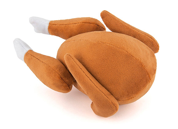Holiday Turkey Squeaky Pet Toy