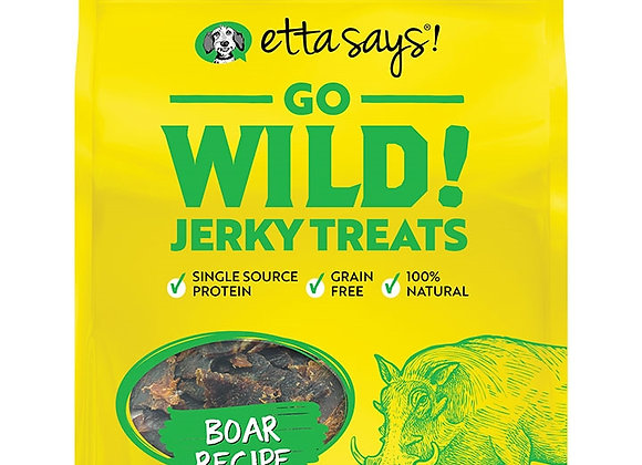 Etta Says! Dog Wild Jerky BOAR 5 oz.
