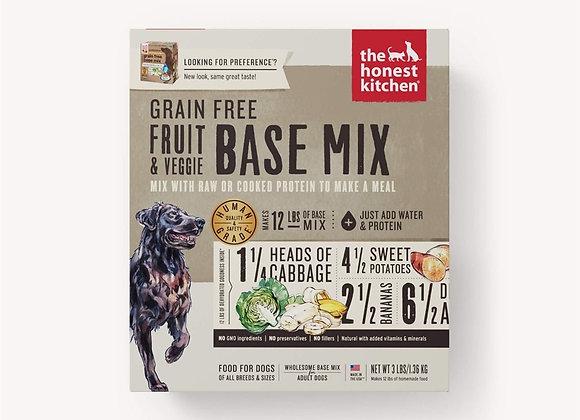 Honest Kitchen  Dog Grain Free Fruit  Veg 3 Lbs. Box