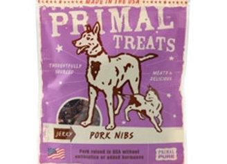 Primal Jerky Pork Nibs Dog & Cat Treats, 4-oz. bag
