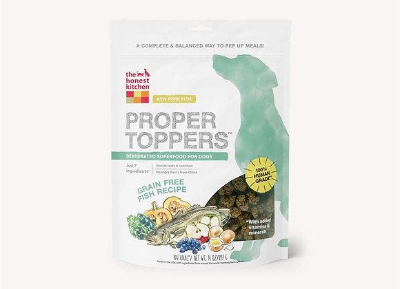 Honest Kitchen  Dog Proper Topper Grain Free Fish 14 oz.