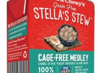 STELLA & CHEWY'S DOG STEW CAGE FREE MEDLEY 11OZ