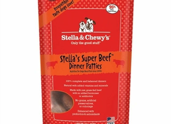 Stella & Chewys Freeze Dried Dog Food- Beef 25oz