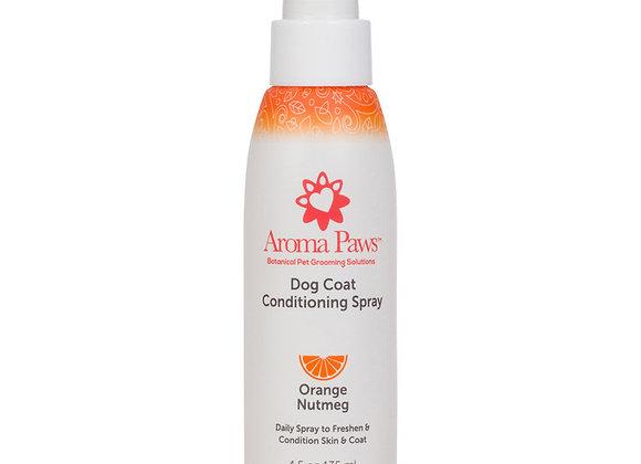 Orange Nutmeg Dog Coat Spray, antiseptic, calms and detoxifies