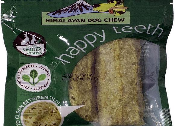 HIMALAYAN DOG HAPPY TEETH SPINACH SMALL