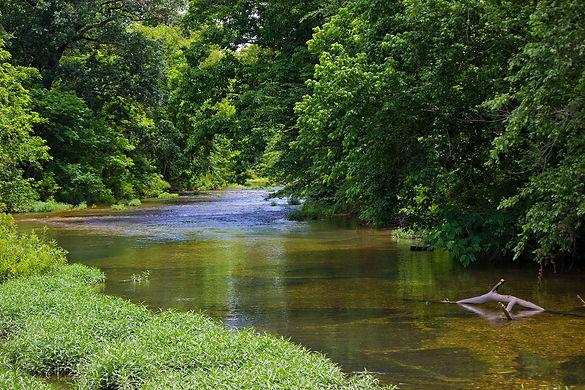 River in Pushmataha County Oklahoma