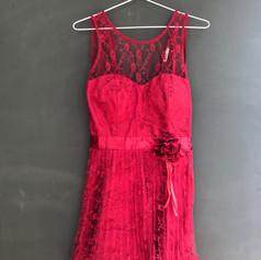 Vestido Roxane Vermelho Adulto M