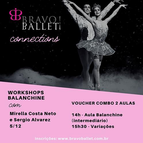 Workshop Balanchine Combo Duas Aulas   5/12