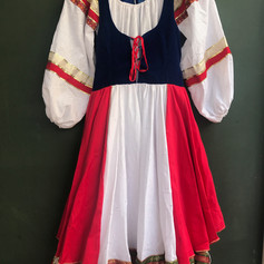 Vestido Russa adulto M