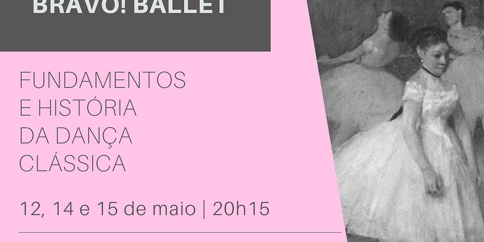 Webinar   Fundamentos e História da Dança Clássica   12, 14 e 15/5