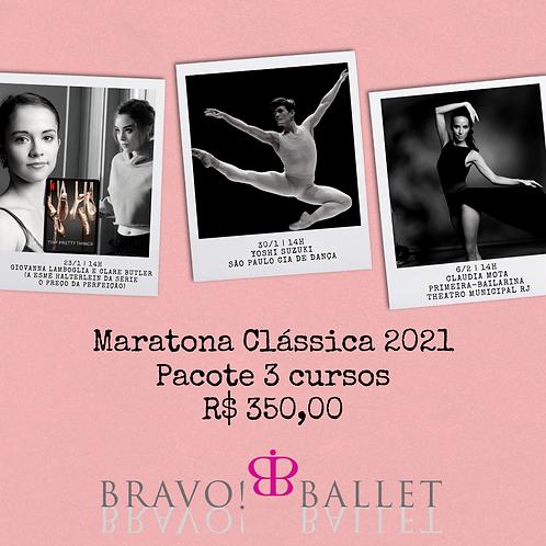 Maratona Clássica Bravo! Ballet (3 cursos)