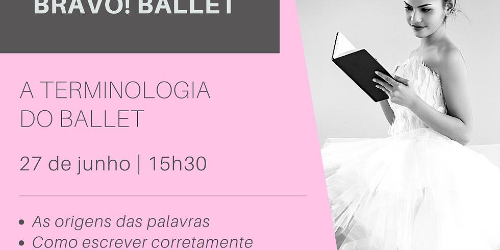 Webinar | A Terminologia do Ballet