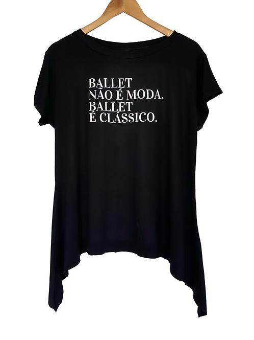 Camiseta Clássica Bravo! Ballet Preta