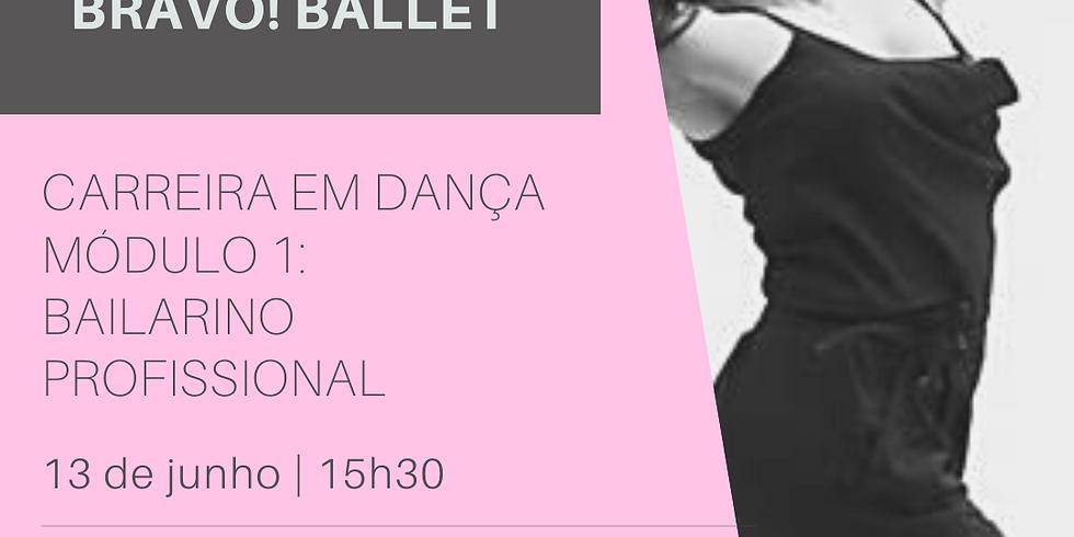 Webinar   Carreira em Dança Módulo I: Bailarino Profissional    13/6